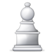 White Chess Pawn on Samsung Touchwiz 6.0