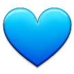 Blue Heart on Samsung TouchWiz 7.0