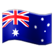 Flag: Australia on Samsung TouchWiz 7.0