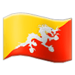 Flag: Bhutan on Samsung TouchWiz 7.0