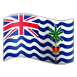 Flag: British Indian Ocean Territory on Samsung TouchWiz 7.0