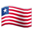 Flag: Liberia on Samsung TouchWiz 7.0