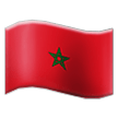 Flag: Morocco on Samsung TouchWiz 7.0