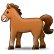 Horse on Samsung TouchWiz 7.0