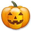 Jack-O-Lantern on Samsung TouchWiz 7.0