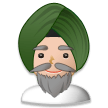 Person Wearing Turban on Samsung TouchWiz 7.0