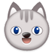 Grinning Cat Face on Samsung TouchWiz 7.0