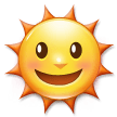 Sun With Face on Samsung TouchWiz 7.0