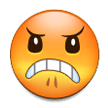 Angry Face on Samsung TouchWiz 7.1