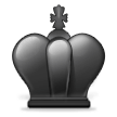 Black Chess King on Samsung TouchWiz 7.1
