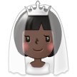 Bride With Veil: Dark Skin Tone on Samsung TouchWiz 7.1