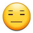 Expressionless Face on Samsung TouchWiz 7.1
