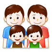 Family: Man, Man, Boy, Boy on Samsung TouchWiz 7.1