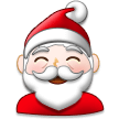 Santa Claus on Samsung TouchWiz 7.1