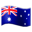 Flag: Australia on Samsung TouchWiz 7.1