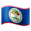 Flag: Belize on Samsung TouchWiz 7.1