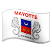 Flag: Mayotte on Samsung TouchWiz 7.1