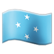 Flag: Micronesia on Samsung TouchWiz 7.1