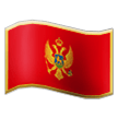 Flag: Montenegro on Samsung TouchWiz 7.1