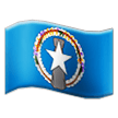 Flag: Northern Mariana Islands on Samsung TouchWiz 7.1