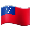 Flag: Samoa on Samsung TouchWiz 7.1