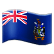 Flag: South Georgia & South Sandwich Islands on Samsung TouchWiz 7.1