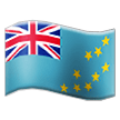 Flag: Tuvalu on Samsung TouchWiz 7.1