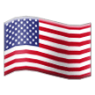 Flag: United States on Samsung TouchWiz 7.1