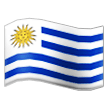 Flag: Uruguay on Samsung TouchWiz 7.1
