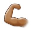 Flexed Biceps: Medium Skin Tone on Samsung TouchWiz 7.1