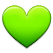 Green Heart on Samsung TouchWiz 7.1