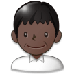 Man: Dark Skin Tone on Samsung TouchWiz 7.1