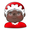Mrs. Claus: Dark Skin Tone on Samsung TouchWiz 7.1