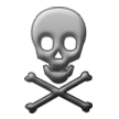 Skull and Crossbones on Samsung TouchWiz 7.1