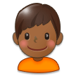 Boy: Medium-Dark Skin Tone on Samsung Experience 8.0