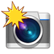 Camera with Flash on Samsung Experience 8.0