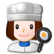 Woman Cook on Samsung Experience 8.0