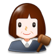 Woman Judge on Samsung Experience 8.0