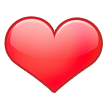 Red Heart on Samsung Experience 8.0