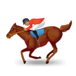 Horse Racing: Medium Skin Tone on Samsung Experience 8.0