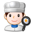 Man Cook on Samsung Experience 8.0