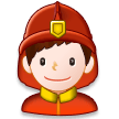 Man Firefighter on Samsung Experience 8.0