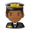 Man Pilot: Medium-Dark Skin Tone on Samsung Experience 8.0
