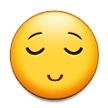 Relieved Face on Samsung Experience 8.0