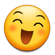 Grinning Face With Smiling Eyes on Samsung Experience 8.0
