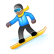 Snowboarder: Medium Skin Tone on Samsung Experience 8.0