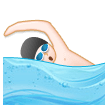 Person Swimming on Samsung Experience 8.0