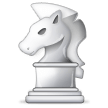White Chess Knight on Samsung Experience 8.0
