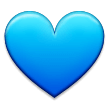 Blue Heart on Samsung Experience 8.1