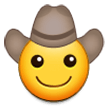 Cowboy Hat Face on Samsung Experience 8.1